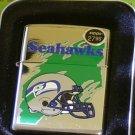 Zippo Cigarette Lighter  Seattle Seahawks NFL 1997