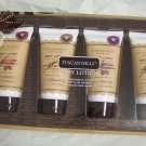 Tuscan Hills Body Lotion Set  100ml (3.3 fl.oz.) each tube.  4pc.