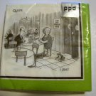 """Try our frogs' legs""  Beverage Napkins  20 napkins/pkg"