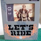 "LED Photo Plaque ""Let's Ride"" for 4 x 6 Photo  (4840-0601)"