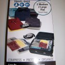 MightyStor Vacuum Bags 4-Piece Travel Combination Set.