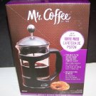 Mr. Coffee Brivio 28 oz Coffee Press Pot