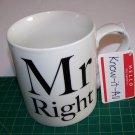 Home Essentials Mr Right Mug   14 fl.oz.