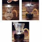 HIC Pour-Over Coffee Maker Set   (43781)