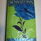 Sensations Dinner Napkins Paper Blue Breeze 24ct