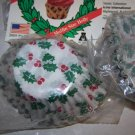 Baking Cups Paper  Holiday Holly Pattern Reg Muffin Size 50/pkg.