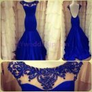 2014 New 2015 New lace evening dress, lace long PROM dress,long bridesmaid dresses