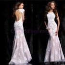 2015 New lace evening dress,lace long PROM dress,long bridesmaid dresses