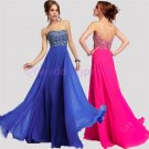 2015 New sexy Nail bead evening dress, strapless PROM dress,long bridesmaid dresses