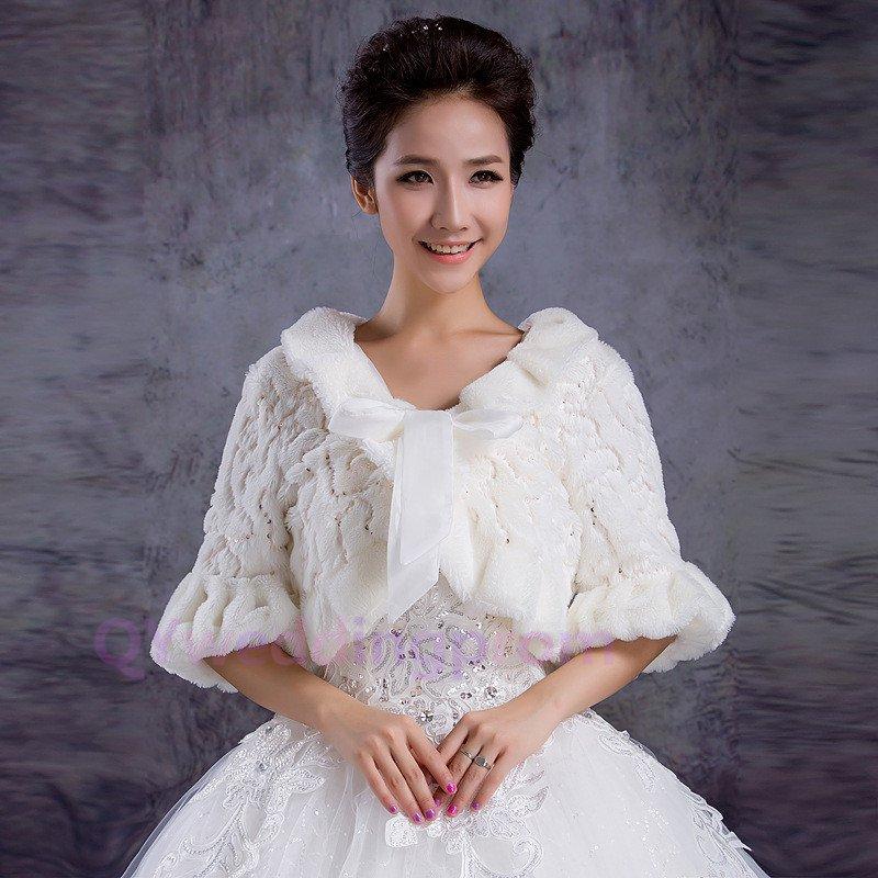 Bride bride wedding shawl paragraph long-sleeved wedding dress bridesmaid leopard thick warm shawl
