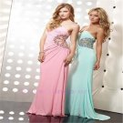 Pageant Sexy Chiffon Beaded Long Evening Dress Prom Gown Party dress 6 8 10 -16