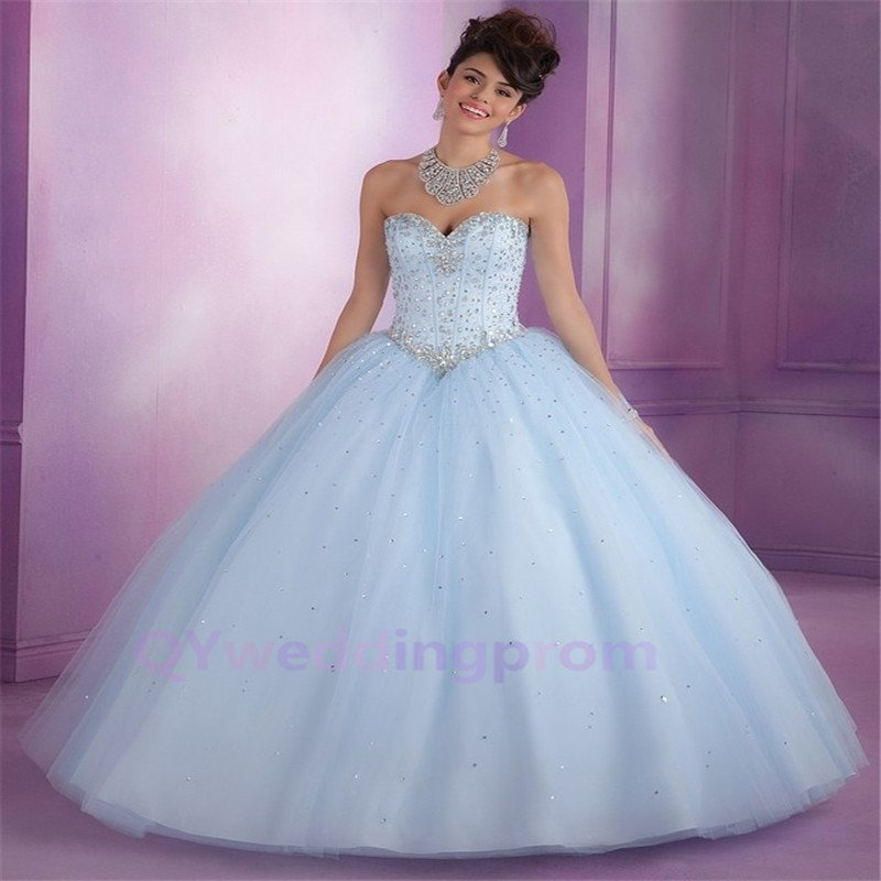 New quinceanera Formal Prom Party Ball Gown Evening Dress free Custom