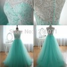 2015 Nes women Fashion High-grade lace ball gown a-line Cocktail dress show dress
