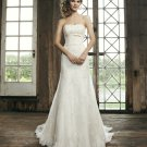 Wedding Dress A-Line Backless Ivory Sweetheart Plus Size Long Lace Wedding Dress
