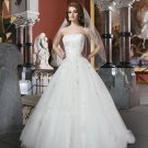 Lace Wedding Dress Sweetheart Backless Bridal Dress Fashionable White Plus Size Wedding Dress