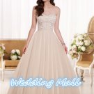 New Wedding Bride Dress A-Line Sweetheart Bride Dress Custom Bride Wedding Dress