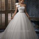 High Quality Custom Made Plus Size Wedding Dress Long A-Line White Elegant Sweetheart Bridal Dresses
