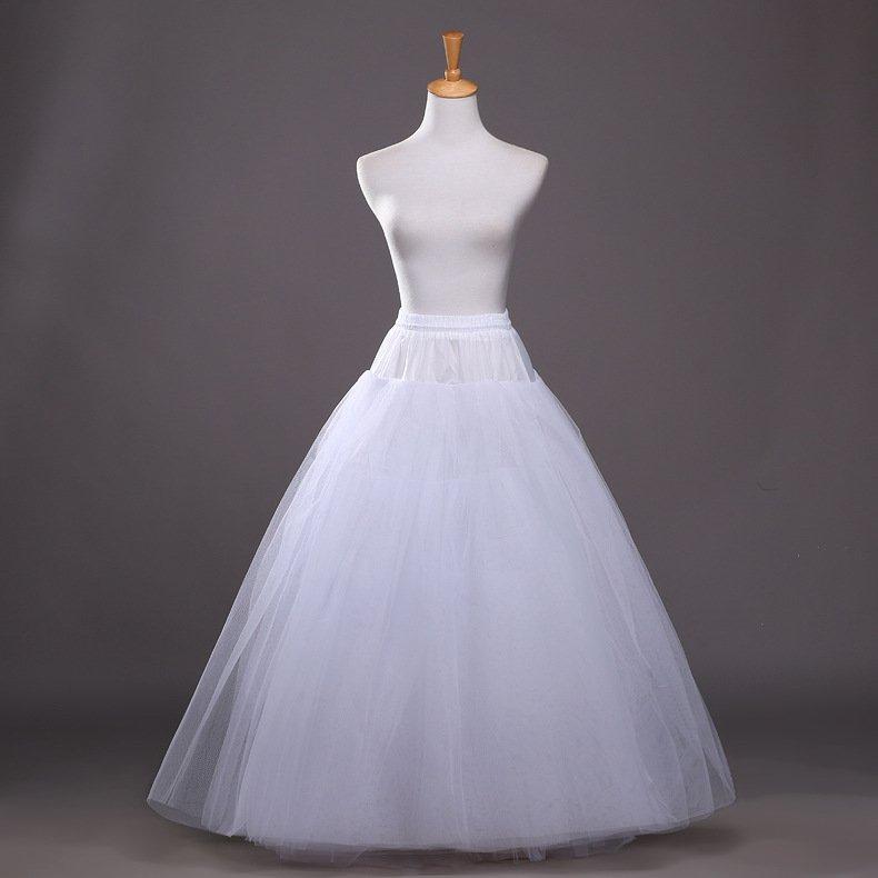 High-grade Wedding Petticoats Four Boneless Petticoat for Wedding