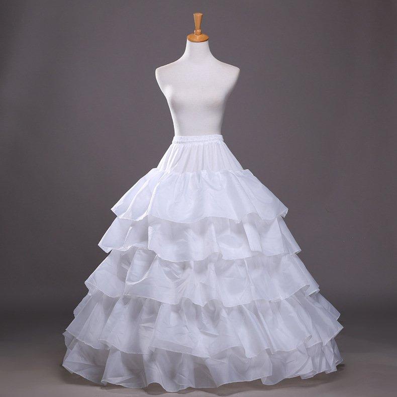 A-line Petticoat Bride Petticoat Wedding Dress Bustle Wedding Panniers Petticoat for Wedding