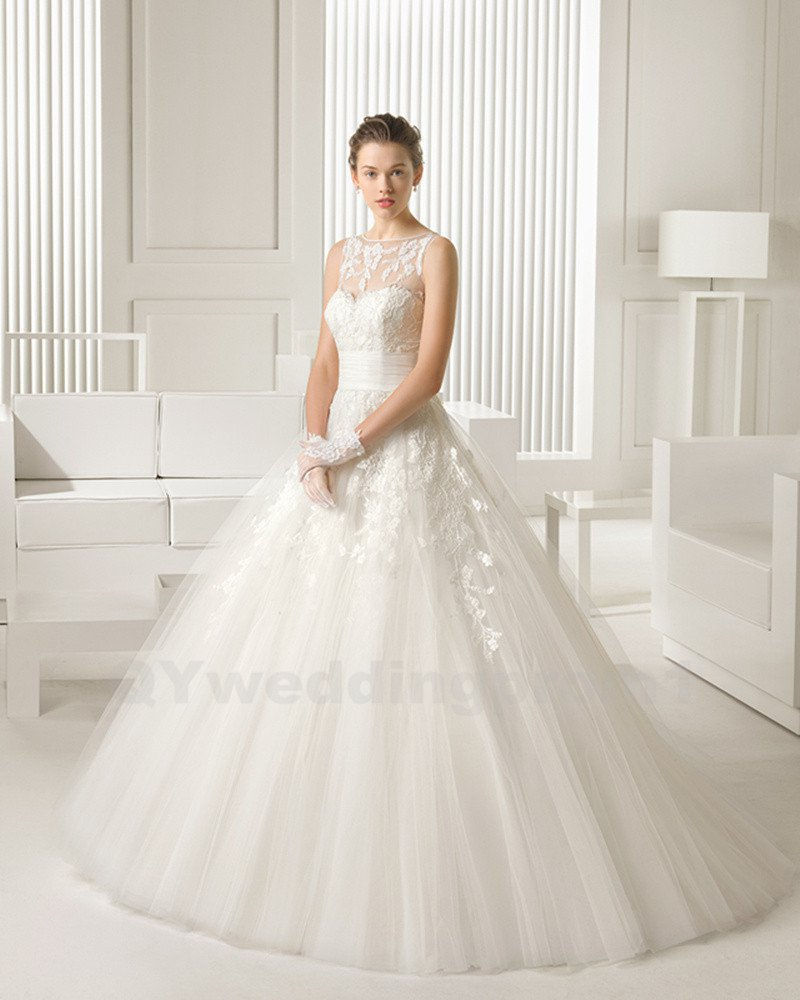 Backless Sexy Wedding Dress Sweeheart High Quality Appliques Bead Lace Wedding Dress Ball Gown