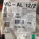 Encore Wire 12/2 MC - AL Metal Clad Cable Sold Per Feet Made in USA
