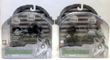 Frankenweenie By Tim Burton After Life Edgar Wererat Persephone Sparky Lot of 2