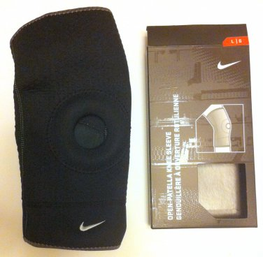 Nike Closed Patella Knee Sleeve Black Medium or Large or Extra Large