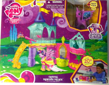 My Little Pony MLP Crystal Princess Palace Playset NEW