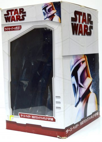Taito Star Wars Darth Vader Figure Clock Lot of 2