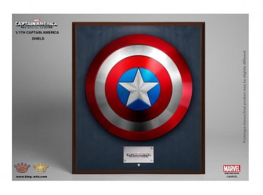 King Arts Collectibles Wall Mount Captain America Shield 1:1 Scale