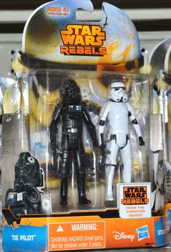 Star Wars Rebels Tie Pilot Stormtrooper 3.75 inch Figure 2015