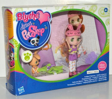 LPS Littlest Pet Shop Blythe Prettiest Pajamas #B28 Rabbit #2169