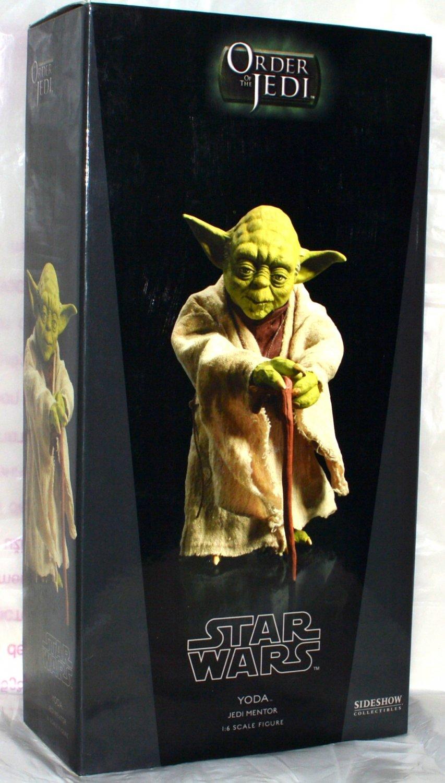 Star Wars Sideshow Jedi Mentor Yoda 1/6 Figure