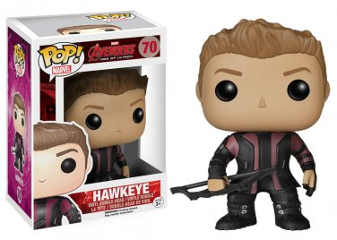 Funko Pop Avengers Hawkeye Bobble Head Figure #70