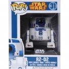 Funko Pop Star Wars R2D2 Bobble Head Figure #31