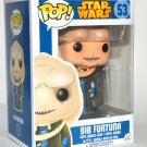 Funko Pop Star Wars Bib Fortuna Vinyl Bobble Head Figure #53