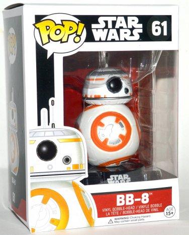 Funko Pop Star Wars BB-8 Vinyl Bobble Head Figure #61