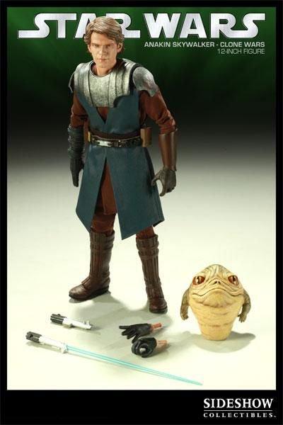 Sideshow Star Wars Clone Wars Anakin Skywalker Figure