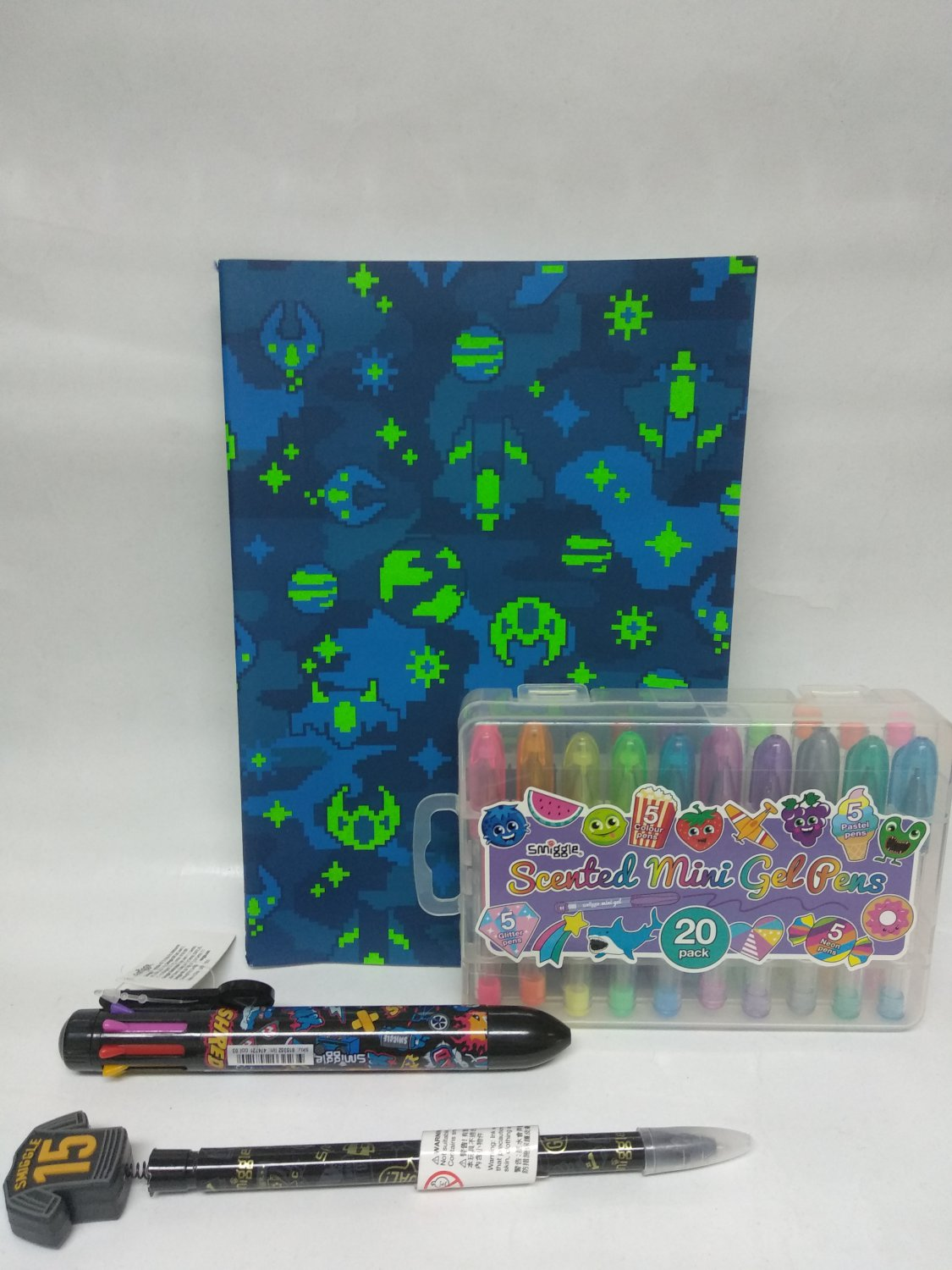 Smiggle Scented Mini Gel Pen 20 and Accessories