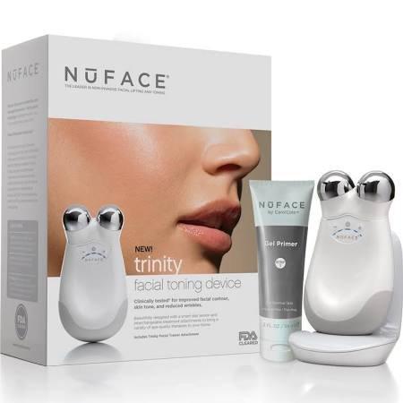 Nuface Trinity Pro Facial Toning Device-White