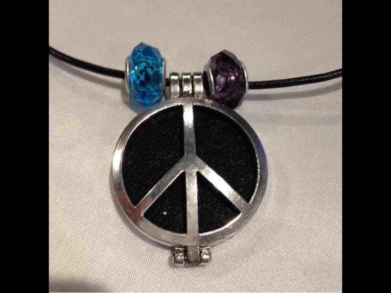 Aromatherapy Oil Locket Choker Necklace