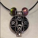 Aromatherapy Oil Locket Choker Necklace