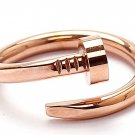 Juste Un Clou Rose Gold Adjustable Nail Ring