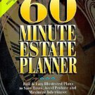 60 Minute Estate Planner by Sandy F. Kraemer (1999, Hardcover, Revised)