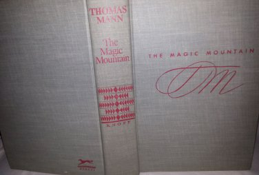 THOMAS MANN THE MAGIC MOUNTAIN DJ/HC