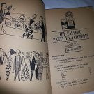 1965 Vintage Collectable THE CALVERT PARTY ENCYCLOPEDIA,DRINK RECIPES-PARTY FOOD