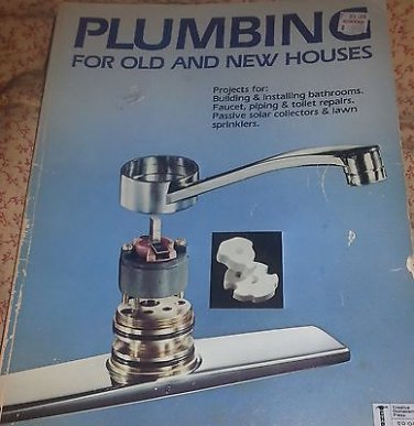 Plumbing for Old & New Houses Paperback SC construction bathroom kitchen toilet