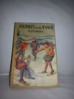 RARE 1929 Holidays on the Ranch Craine E. J. Illustrated *85+ Year COLLECTABLE