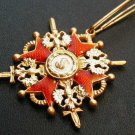 MEDAL ORDER SIGN OF THE ORDER OF ST.. STANISLAUS # 144