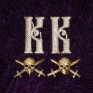 Monogram on shoulder straps shock Kornilov Regiment WHITE MOVEMENT #10790
